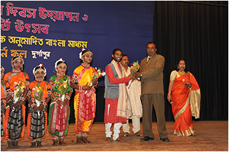 Performance in Durgapur, West Bengal